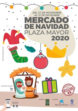 Mercadillo navideño de la Plaza Mayor 2020