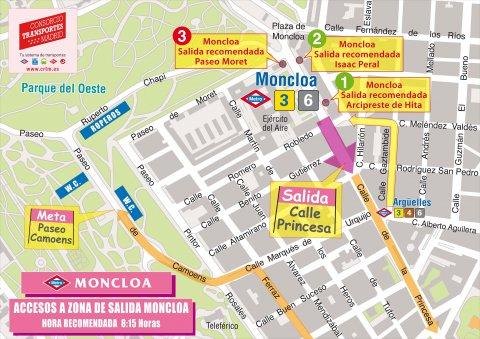 Recomendaciones salida Carrera de la Mujer Madrid 2019