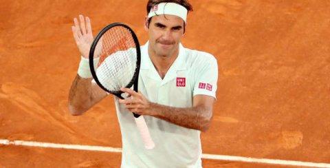 Roger Federer. © Mutua Madrid Open 2019