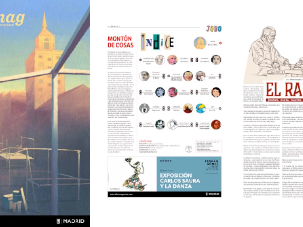 Revista eme21magazine abril 2021. Portada: Kike de la Rubia