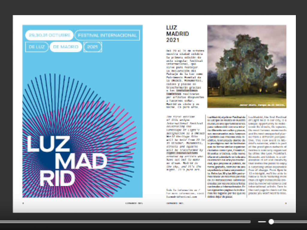 Consulta en ISSUU el número de octubre de 2021 de esMADRIDmagazine