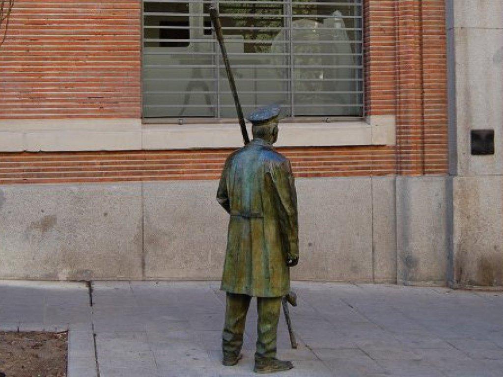 Farolero madrileño (© Antonello Dellanotte)