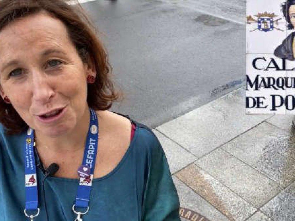 Madrid a través del callejero, de Vanessa Reichmuth, ganadora del segundo premio de la tercera edición del Premio Mejor Visita Guiada de Madrid