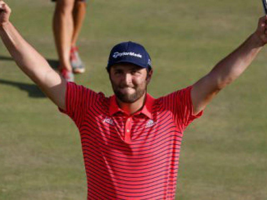 John Rahm (ESP), ganador del Open de España de golf 2019