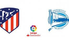 Atlético de Madrid - Deportivo Alavés (Liga Santander)