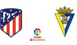 Atlético de Madrid - Cádiz CF (Liga Santander)