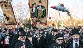 Entierro de la Sardina del Carnaval de Madrid 2020