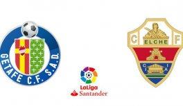 Getafe CF - Elche CF (Liga Santander)