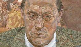 Lucian Freud. Retrato del barón H. H. Thyssen-Bornemisza, 1981-1982. Óleo sobre lienzo. 51 x 40 cm. © The Lucian Freud Archive