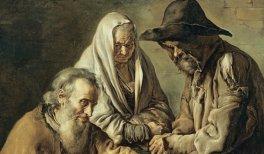 "Giacomo (llamado ""Il Pittocchetto"") Ceruti. Grupo de mendigos, c. 1737. Óleo sobre lienzo. 130,5 x 95 cm © Museo Nacional Thyssen-Bornemisza, en depósito en el Museu Nacional d'Art de Catalunya (MNAC)"