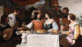 Detalle deLa disipación del hijo pródigo, h.1660. Bartolomé Esteban Murillo. Óleo sobre lienzo. Photo ©️ National Gallery of Ireland