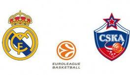 Real Madrid - CSKA Moscú (Euroliga. Jornada 10)