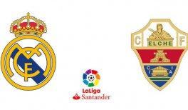 Real Madrid - Elche CF (Liga Santander)