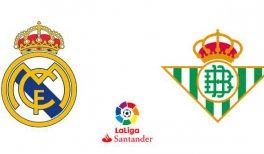 Real Madrid - Real Betis (Liga Santander)