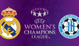 Real Madrid Femenino - WFC Kharkiv (UEFA Women's Champions League)