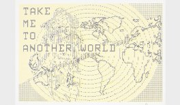 Charlotte Johannesson, Take me to another world, 1981-1986. Gráfica digital. Cortesía de la artista