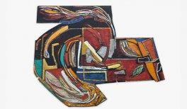 Vivian Suter,Sin título, ca. 1980. Técnica mixta sobre papel. Cortesía de la artista y de las galerías Karma International, Zúrich; Gladstone Gallery, Nueva York/Bruselas; House of Gaga, Ciudad de México, y Proyectos Ultravioleta, Ciudad de Guatemala. Fo