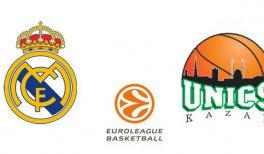 Real Madrid – Unics Kazan (Euroliga. Liga Regular. Partido 9)
