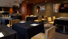 Hotel AC Los Vascos - comedor