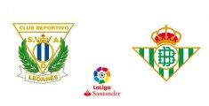 CD Leganés - Real Betis (Liga Santander)