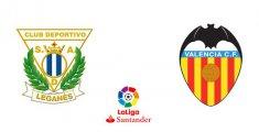 CD Leganés - Valencia CF (Liga Santander)