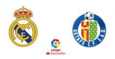 Real Madrid - Getafe CF (Liga Santander)