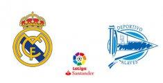 Real Madrid - Deportivo Alavés (Liga Santander)