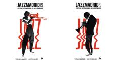 JAZZMADRID19. Festival Internacional de Jazz de Madrid. Imágenes del equipo de Diseño Gráfico de Madrid Destino y del ilustrador y director creativo Jorge Arévalo