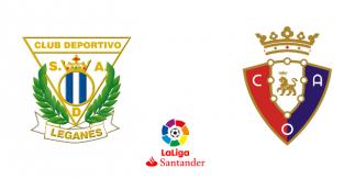 CD Leganés - Club Atlético Osasuna (Liga Santander)