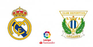 Real Madrid – CD Leganés (Liga Santander)