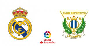 Real Madrid – CD Leganés (Liga Santander)