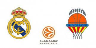 Real Madrid - Valencia Basket (Euroliga. Jornada 13)