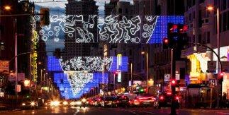 Luces de Navidad / Gran Vía