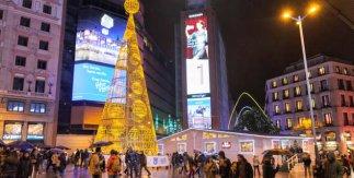 Luces de Navidad Madrid 2016 / Plaza de Callao