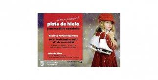 Pista de hielo y mercadillo navideño de Vicálvaro