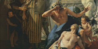 Giambattista Tiepolo, La muerte de Jacinto