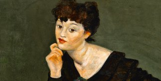 André Derain. Isabel Lambert,1935-1939, Óleo sobre lienzo, 75,6 × 74 cm. André Derain, VEGAP, Madrid, 2018