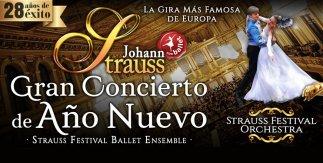 Promoconcert. Johann Strauss Gran Concierto de Año Nuevo
