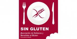 Logotipo Asociación de Celíacos y Sensibles al Gluten de la Comunidad de Madrid