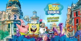"""Guía de turismo familiar """"Bob Esponja. Aventuras en Madrid"""""""