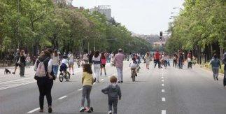 Calles peatonales fin de semana y festivos Madrid coronavirus