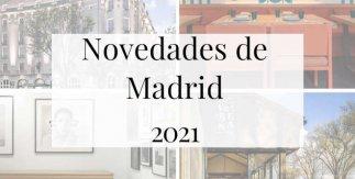 Catálogo de Novedades Madrid 2021