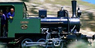 Tren de vapor de Arganda