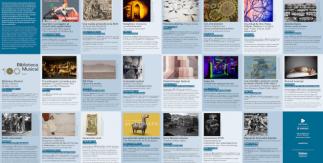 Folleto Madrid Cultura Agenda de exposiciones enero-abril 2020