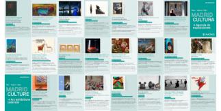 Folleto Madrid Cultura / Agenda de exposiciones mayo - agosto 2021 (PDF)