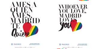 Folleto Ames a quien ames Madrid te quiere. Descubre Madrid LGTBG / Whoever You Love, Madrid Loves You. Discover Madrid LGBT