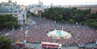 Manifestación. MADO 2018. Fiestas del Orgullo. Madrid.