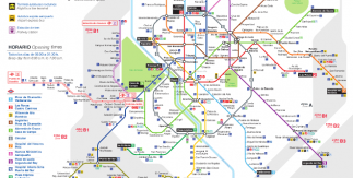 Madrid Spain Map Tourist.Maps And Essential Guides Of Madrid