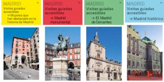 Visitas guiadas accesibles Madrid: enero - marzo 2020