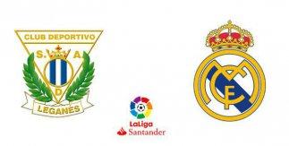 CD Leganés - Real Madrid (Liga Santander)